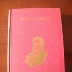 Libros de segunda mano: NOVELAS EJEMPLARES - MIGUEL DE CERVANTES - J. PÉREZ DEL HOYO - MADRID (1969). Lote 53352952