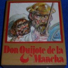 Libros de segunda mano: DON QUIJOTE DE LA MANCHA - 2 TOMOS - EDICIONES AFHA (1974). Lote 53421345