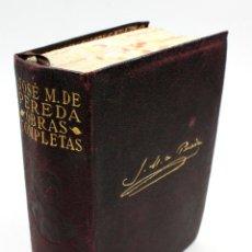 Libros de segunda mano: JOSÉ M. DE PEREDA, OBRAS COMPLETAS. AGUILAR ED. 1943 . Lote 53429411