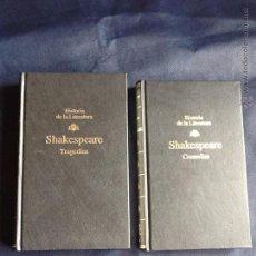Libros de segunda mano: TRAGEDIAS Y COMEDIAS - WILLIAM SHAKESPEARE. Lote 53446941