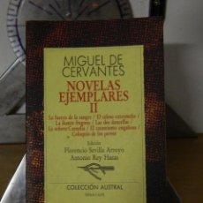 Libros de segunda mano: NOVELAS EJEMPLARES II - MIGUEL DE CERVANTES - 1991. Lote 53676952