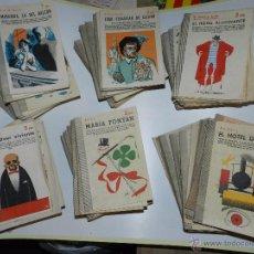 Libros de segunda mano: (M) LOTE DE 158 LIBROS , REVISTA LITERARIA NOVELAS Y CUENTOS, PUBLICACION SEMANAL 1958. Lote 53957329