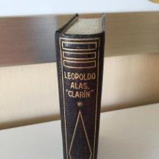 Libros de segunda mano: LEOPOLDO ALAS CLARÍN I - LA REGENTA - CLASICOS PLANETA 3 EN PIEL AZUL 1ª PRIMERA EDICION 1963. Lote 54002562