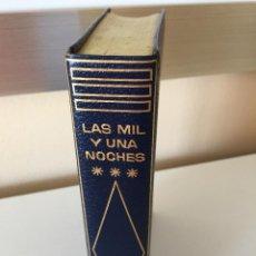 Libros de segunda mano: LAS MIL Y UNA NOCHES III - CLASICOS PLANETA 9 EN PIEL AZUL 1ª PRIMERA EDICION 1967. Lote 54002609