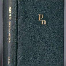 Libros de segunda mano: BERNARD SHAW : COMEDIAS ESCOGIDAS (AGUILAR) PLENA PIEL. Lote 54056412