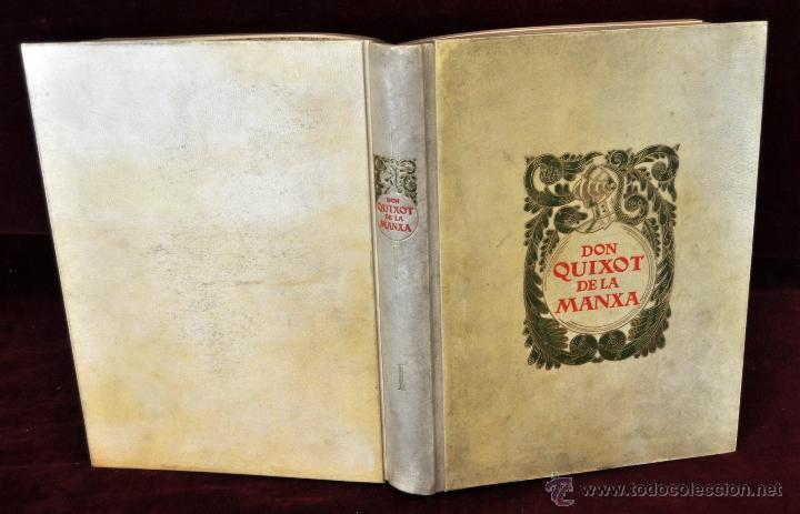 Libros de segunda mano: L'ENGINYOS CAVALLER DON QUIXOT DE LA MANXA. CERVANTES. EDIT. OCTAVI VIADER. 2 TOMOS. QUIJOTE MANCHA - Foto 2 - 54123283