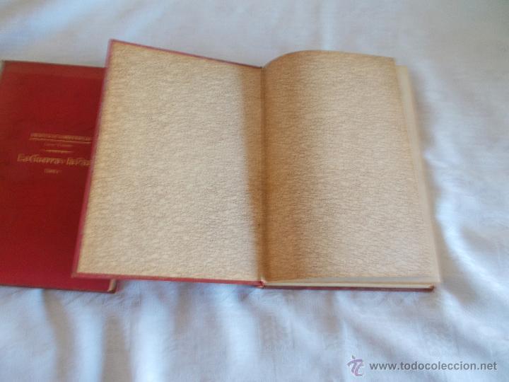 Libros de segunda mano: BIBLIOTECA DE GRANDES NOVELAS la Guerra y la Paz - Foto 3 - 54156146