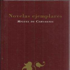 Libros de segunda mano: NOVELAS EJEMPLARES. MIGUEL DE CERVANTES. EDICIONES RUEDA. MADRID. 1996. Lote 54192689