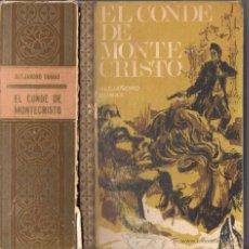 Libros de segunda mano: DUMAS : EL CONDE DE MONTECRISTO (RODEGAR, 1968). Lote 54270493