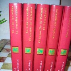 Libros de segunda mano: CLASICOS DE LA LITERATURA ESPAÑOLA (5 TOMOS).EDICIONES RUEDA J. M. S. A.. Lote 54271570