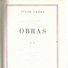 Libros de segunda mano: OBRAS DE JULIO VERNE. PLAZA & JANES. BARCELONA. 1971. VER TÍTULOS EN DESCRIPCIÓN. Lote 54407111