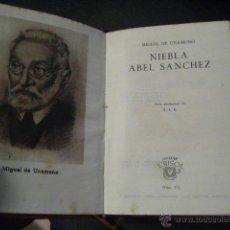Libros de segunda mano: NIEBLA ABEL SANCHEZ, UNAMUNO , COLECCION CRISOL Nº 151 . Lote 54411380