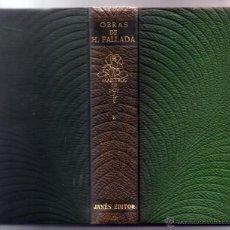 Libros de segunda mano: OBRAS DE H. FALLADA. TOMO 1(I) . MAESTROS DE HOY. JANÉS EDITOR.. Lote 54412937