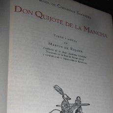 Libros de segunda mano: DON QUIJOTE. CERVANTES.EDITORIAL JUVENTUD,1966.. Lote 54415522