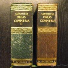 Libros de segunda mano: OBRAS COMPLETAS DE MIGUEL CERVANTES SAAVEDRA. Lote 54497265
