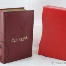 Libros de segunda mano: LIBRO ILUSTRADO COLECCIÓN OBRAS INMORTALES - JULIO VERNE. LA VUELTA AL MUNDO EN 80... - EDAF, 1970. Lote 54734963