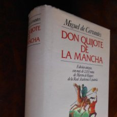 Libros de segunda mano: LIBRO DON QUIJOTE DE LA MANCHA EDITORIAL JUVENTUD 1990. Lote 54930821
