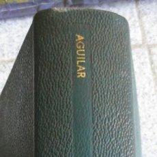 Libros de segunda mano: OBRA ESCOGIDA RABINDRANAZ TAGORE EDIT AGUILAR AÑO 1970. Lote 55071787