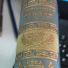 Libros de segunda mano: OBRA ESCOGIDA RABINDRANAZ TAGORE EDIT AGUILAR AÑO 1960. Lote 55115285
