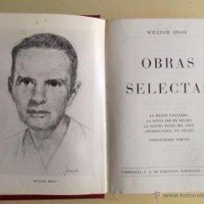 Libros de segunda mano: OBRAS SELECTAS WILLIAM IRISH. Lote 55394038