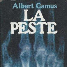 Libros de segunda mano: LA PESTE - ALBERT CAMUS V. Lote 55794228