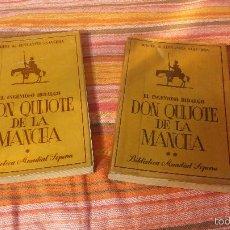 Libros de segunda mano: EL INGENIOSO HIDALGO DON QUIJOTE, 1954, VOLUMEN ESPECIAL, IMPRESO Y EDITADO EN ARGENTINA, SOPENA. Lote 55891514