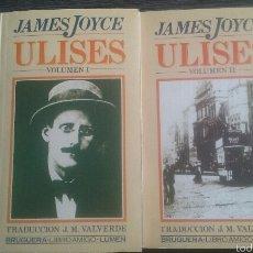 Libros de segunda mano: ULISES JAMES JOYCE BRUGUERA 2 VOLÚMENES. Lote 56028416