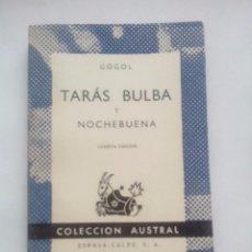 Libros de segunda mano - Taras Bulba. Nochebuena. N. Gogol. Colección Austral nº 173. 4ªEd. Espasa Calpe - 56052561