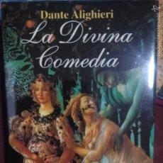 Libros de segunda mano: LA DIVINA COMEDIA - DANTE ALIGHIERI 1ª EDICION 1998 EDITORIAL ALBA TAPA DURA. Lote 56129738