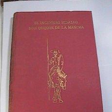 Libros de segunda mano: EL INGENIOSO HIDALGO DON QUIJOTE DE LA MANCHA.1963. J.PEREZ DEL HOYO EDITOR. MADRID.. Lote 56186256