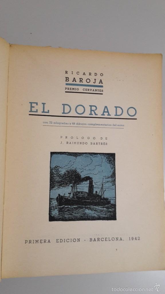 Libros de segunda mano: Ricardo Baroja el Dorado. - Foto 2 - 56230959