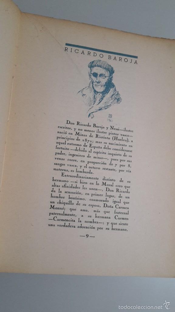 Libros de segunda mano: Ricardo Baroja el Dorado. - Foto 3 - 56230959