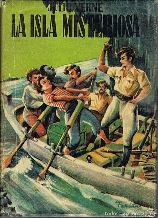 LA ISLA MISTERIOSA. JULIO VERNE. CADETE (Libros de Segunda Mano (posteriores a 1936) - Literatura - Narrativa - Clásicos)