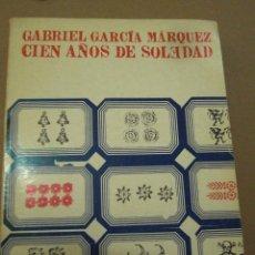 Libros de segunda mano: CIEN AÑOS DE SOLEDAD. GARCÍA MÁRQUEZ. SUDAMERICANA ESPAÑA,1973.TIRADA 9000 EJEMPLARES.. Lote 56497740