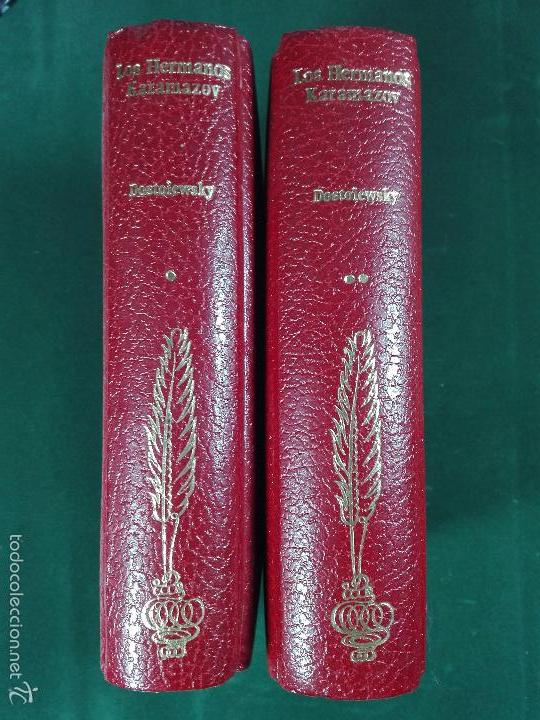 LOS HERMANOS KARAMÁZOV - FIÓDOR M. DOSTOIEVSKI - 2 TOMOS - EDITORIAL ZEUS - BARCELONA - 1971 - (Libros de Segunda Mano (posteriores a 1936) - Literatura - Narrativa - Clásicos)