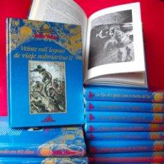 Libros de segunda mano: LOS VIAJES EXTRAORDINARIOS - JULIO VERNE - COLECCIÓN COMPLETA 14 VOLÚMENES - EDICIONES RUEDA. Lote 56869578