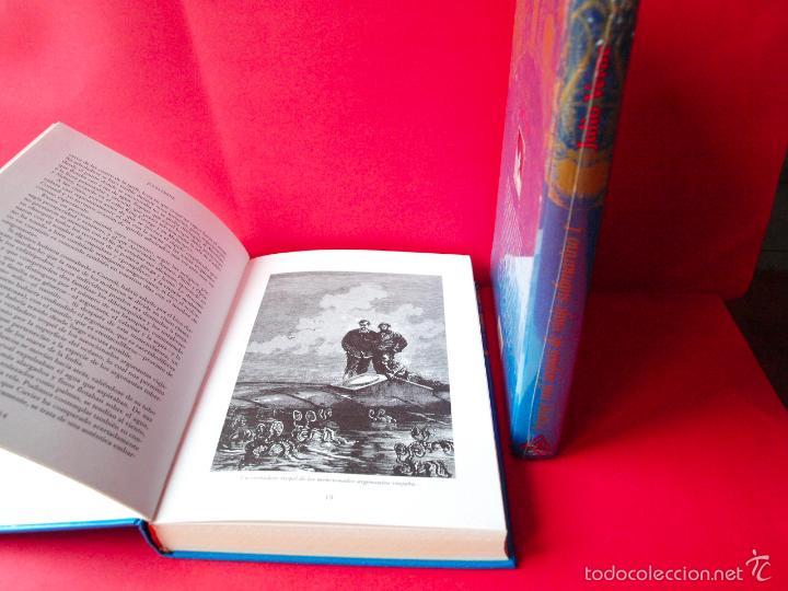 Libros de segunda mano: LOS VIAJES EXTRAORDINARIOS - JULIO VERNE - COLECCIÓN COMPLETA 14 VOLÚMENES - EDICIONES RUEDA - Foto 7 - 56869578
