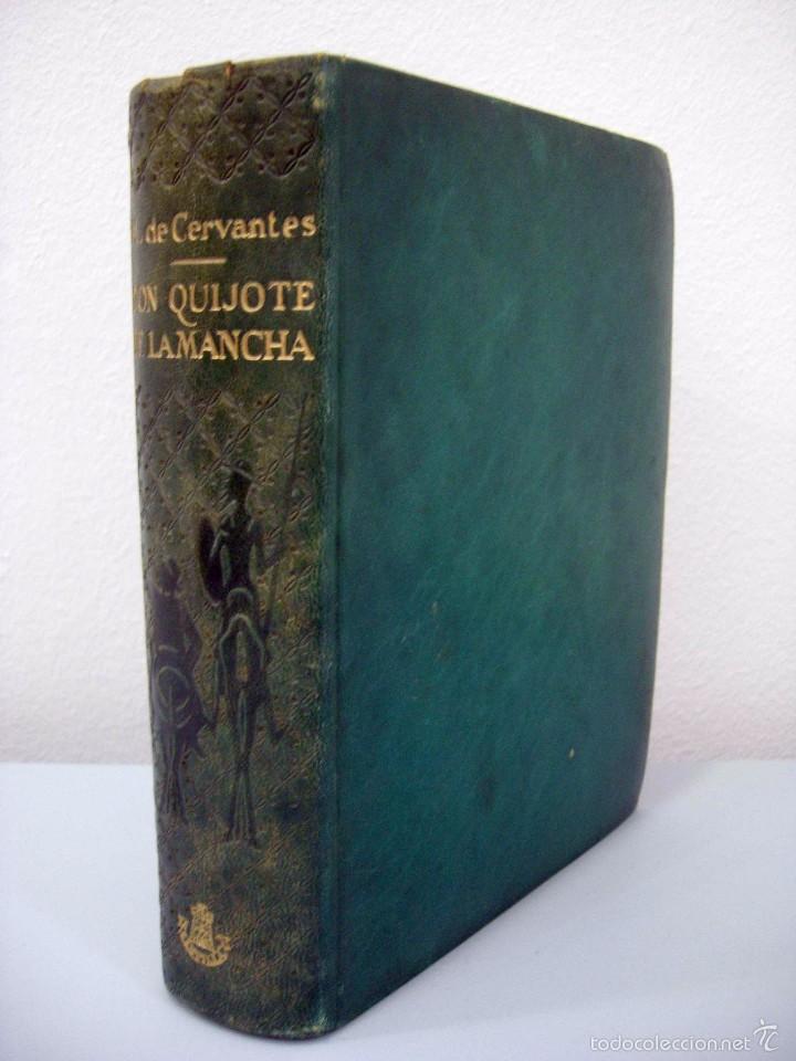MIGUEL DE CERVANTES - DON QUIJOTE DE LA MANCHA. EDICIÓN IV CENTENARIO. EDICIONES CASTILLA. (Libros de Segunda Mano (posteriores a 1936) - Literatura - Narrativa - Clásicos)