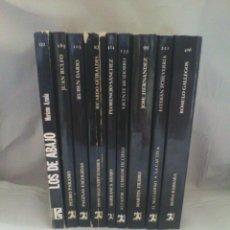 Libros de segunda mano: LOTE 9 LIBROS CLÁSICOS LITERATURA HISPANOAMERICANA (EDICIONES CÁTEDRA). Lote 56996991