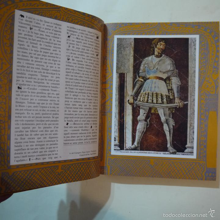 Libros de segunda mano: TIRANT LO BLANC - JOANOT MARTORELL I MARTI JOAN DE GALBA - ILUSTRACIONS XAVIER MARISCAL - 1991 - Foto 4 - 108448698