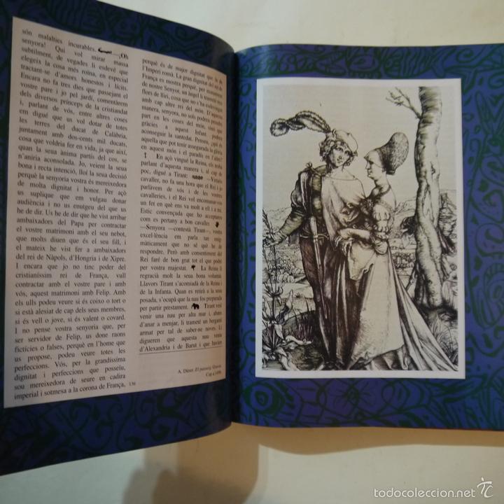 Libros de segunda mano: TIRANT LO BLANC - JOANOT MARTORELL I MARTI JOAN DE GALBA - ILUSTRACIONS XAVIER MARISCAL - 1991 - Foto 5 - 108448698