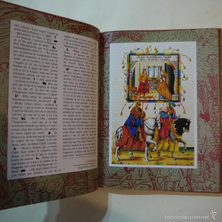 Libros de segunda mano: TIRANT LO BLANC - JOANOT MARTORELL I MARTI JOAN DE GALBA - ILUSTRACIONS XAVIER MARISCAL - 1991 - Foto 7 - 108448698