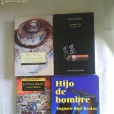 Libros de segunda mano: LOTE 4 LIBROS LITERATURA HISPANOAMERICANA (BENEDETTI, NERUDA, MONTERROSO Y ROA BASTOS). Lote 56997155