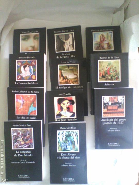 LOTE 11 LIBROS CLÁSICOS LITERATURA ESPAÑOLA (Libros de Segunda Mano (posteriores a 1936) - Literatura - Narrativa - Clásicos)
