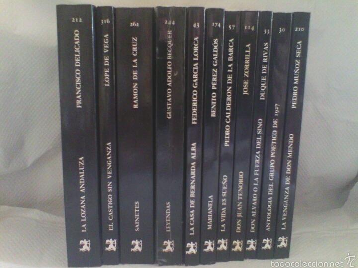Libros de segunda mano: Lote 11 Libros CLÁSICOS LITERATURA ESPAÑOLA - Foto 2 - 56997263