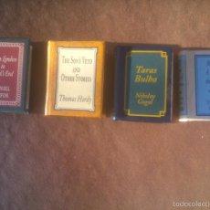Libros de segunda mano: GRANDES OBRAS DE LA LITERATURA UNIVERSAL EN MINIATURA. Lote 173670084