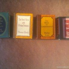 Libros de segunda mano: GRANDES OBRAS DE LA LITERATURA UNIVERSAL EN MINIATURA. Lote 56997416