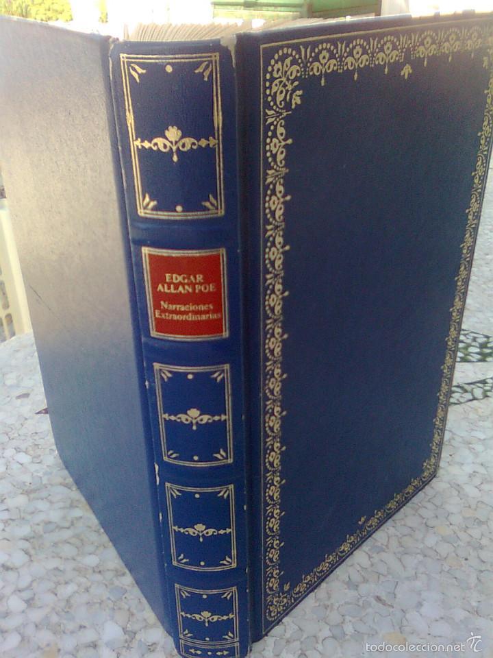 POE, EDGAR ALLAN - NARRACIONES EXTRAORDINARIAS (CLUB INTERNACIONAL LIBRO, 1991) GUAFLEX 224 PGS (Libros de Segunda Mano (posteriores a 1936) - Literatura - Narrativa - Clásicos)