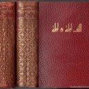 Libros de segunda mano: LAS MIL Y UNA NOCHES - DOS TOMOS (AHR, 1962) TRADUCCIÓN DE BLASCO IBÁÑEZ. Lote 64294267
