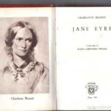 Libros de segunda mano: AGUILAR CRISOL Nº 198 : CHARLOTTE BRONTË - JANE EYRE (1947). Lote 57363608